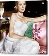 To Catch A Thief, Grace Kelly, 1955 Acrylic Print by Everett