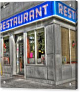 Tom's Restaurant Of Seinfeld Fame Acrylic Print by Randy Aveille