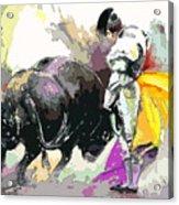 Toroscape 39 Acrylic Print by Miki De Goodaboom