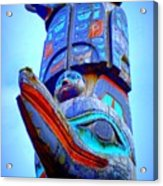 Totem 42 Acrylic Print by Randall Weidner