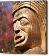 Totem I Acrylic Print by Chris Dutton