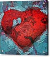 Tough Love Acrylic Print by Linda Sannuti