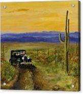Touring Arizona Acrylic Print by Jack Skinner