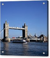 Tower Bridge, London Acrylic Print by Lothar Schulz