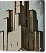Tower Of Memories Acrylic Print by Kevin Munro