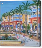 Town Center Abacoa Jupiter Acrylic Print by Marilyn Dunlap