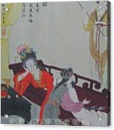 Tr014 Highest Ranking Imperia Concubine Of Drunk Acrylic Print by Bei Wang