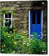 Traditional Cottage, Co Cork Acrylic Print by The Irish Image Collection