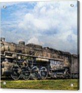 Train - Engine - Nickel Plate Road Acrylic Print by Mike Savad