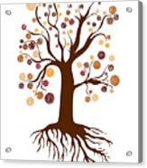 Tree Acrylic Print by Frank Tschakert