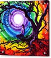 Tree Of Life Meditation Acrylic Print by Laura Iverson