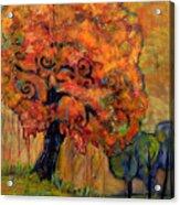 Tree Of Wisdom Acrylic Print by Blenda Studio
