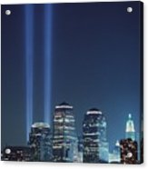 Tribute Of Light Represents The Fallen Acrylic Print by Everett