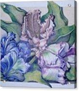 Trilogy Acrylic Print by Joyce Hutchinson