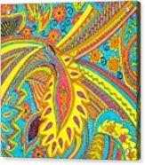Tropical Sizzle Acrylic Print by Ramneek Narang