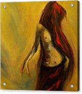 Tu Solo Tu Acrylic Print by Niki Sands