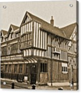 Tudor House Southampton Acrylic Print by Terri Waters