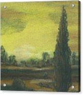 Tuscan Dusk 1 Acrylic Print by Shelby Kube