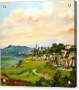 Tuscan Landscape Acrylic Print by Tigran Ghulyan