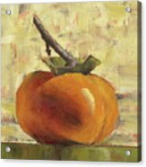 Tuscan Persimmon Acrylic Print by Pam Talley