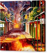 Twilight In New Orleans Acrylic Print by Diane Millsap