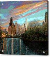 Twilight Serenity II Acrylic Print by Doug Kreuger
