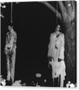Two Lynched African American Men Acrylic Print by Everett
