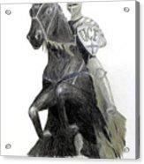 Ucf Knights Acrylic Print by Frederic Kohli