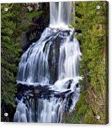 Udine Falls Acrylic Print by Marty Koch