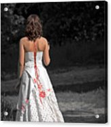 Ukrainian Bride Acrylic Print by Evelina Kremsdorf
