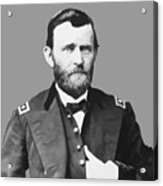 Ulysses S Grant Acrylic Print by War Is Hell Store