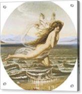 Under The Sea Acrylic Print by Joseph Noel Paton