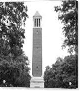 University Of Alabama Denny Chimes Acrylic Print by University Icons