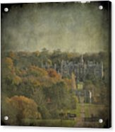 University Of Evansville Acrylic Print by Martin Crush