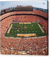 University Of Tennessee Neyland Stadium Acrylic Print by University of Tennessee Athletics