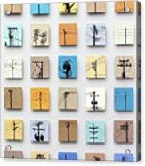 Urban Sentinels Acrylic Print by Jason Messinger