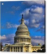 Us Capital  Acrylic Print by Brian Governale