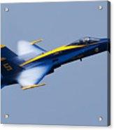 Us Navy Blue Angels High Speed Pass Acrylic Print by Dustin K Ryan