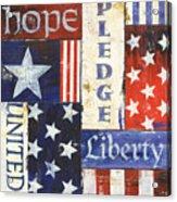 Usa Pride 1 Acrylic Print by Debbie DeWitt