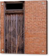 Use Side Entrance Acrylic Print by Ed Smith