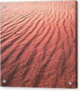 Utah Coral Pink Sand Dunes Acrylic Print by Ryan Kelly