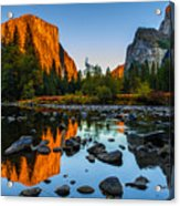 Valley View Yosemite National Park Acrylic Print by Scott McGuire