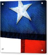 Variations On Old Glory No.7 Acrylic Print by John Pagliuca