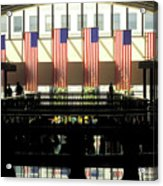 Variations On Old Glory No.8 Acrylic Print by John Pagliuca