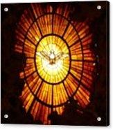 Vatican Window Acrylic Print by Carol Groenen
