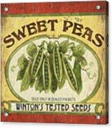 Veggie Seed Pack 1 Acrylic Print by Debbie DeWitt