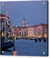 Venice Blue Hour 2 Acrylic Print by Heiko Koehrer-Wagner