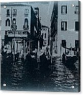 Venice Acrylic Print by Naxart Studio