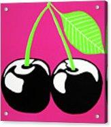 Very Cherry Acrylic Print by Oliver Johnston