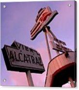 View Alcatraz Acrylic Print by Elizabeth Hoskinson
